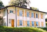 Image: Hillside houses in Zagorze, Drezdenko, Poland